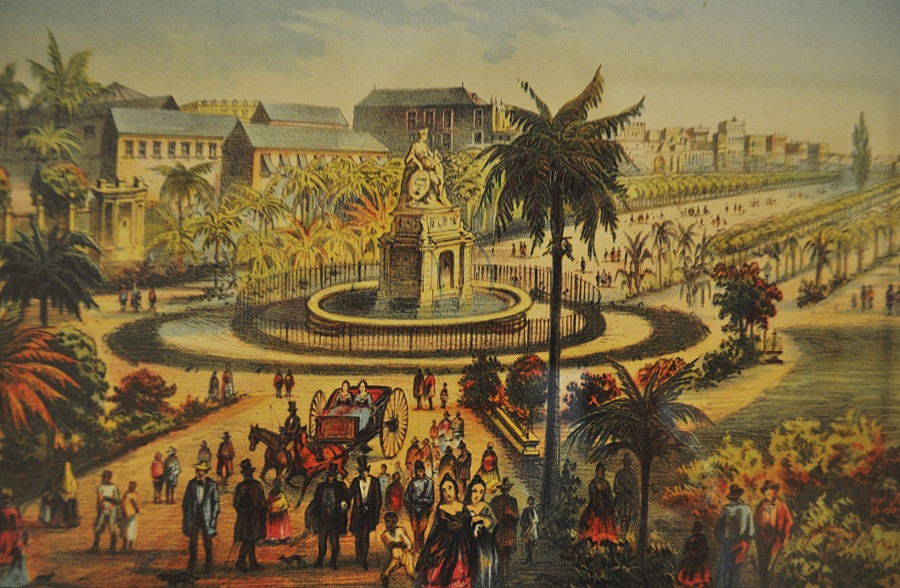 Paseo del Prado (Isabel II) - Havana