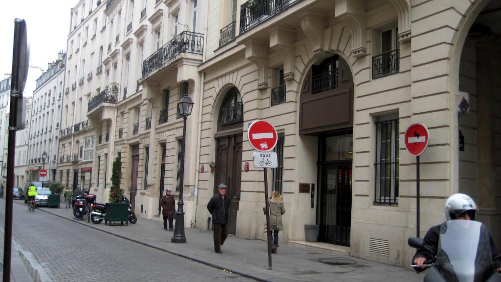 Rue de Bondy (now Rue René Boulanger)