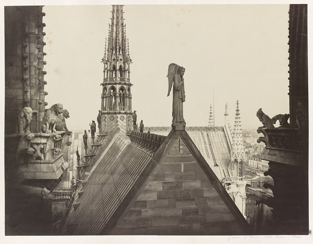 Notre Dame de Paris - Photograph by Charles Marville